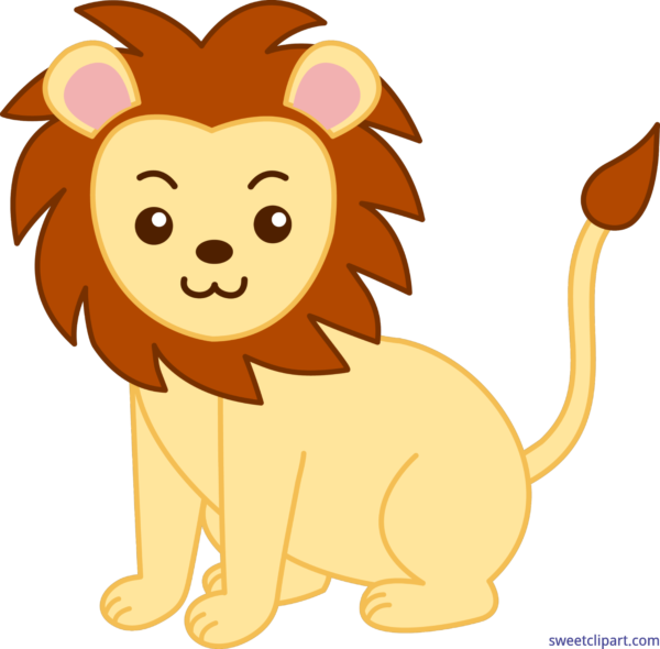 Animals archives sweet clip. Pet clipart lion