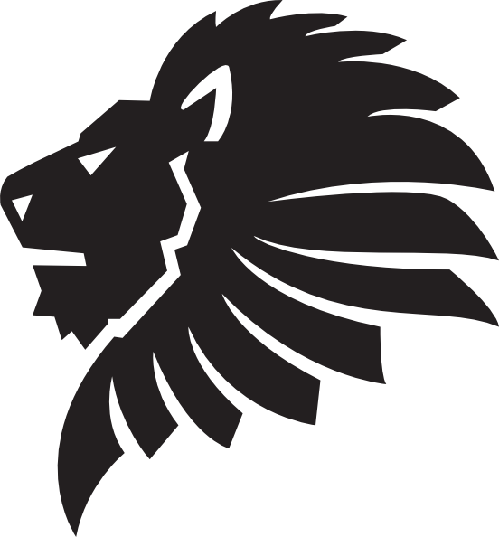 Silhouette clipart lion. Roar at getdrawings com