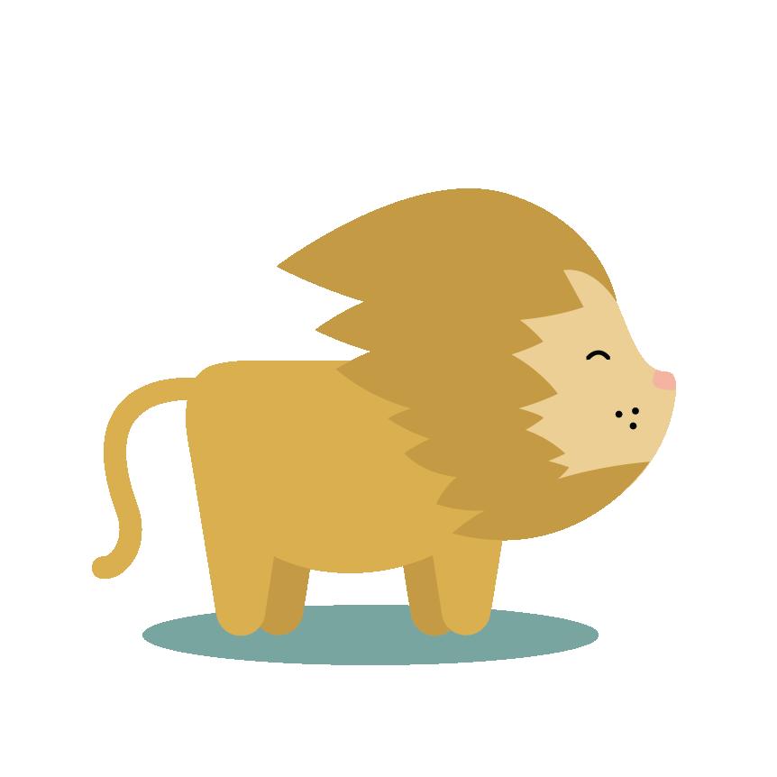 Honolulu zoo preliminary kait. Lion clipart run