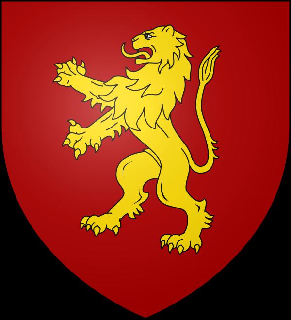 House lannister cersei universal. Lion clipart shield