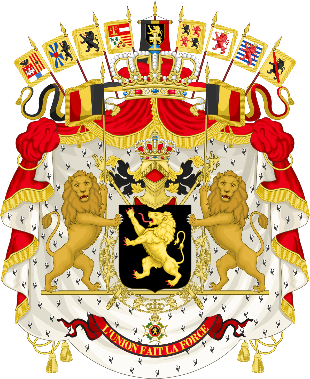 Mr clipart absolute monarchy. Coat of arms belgium