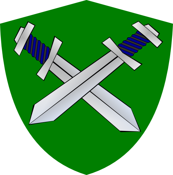 Clipart shield sword. Clip art at clker