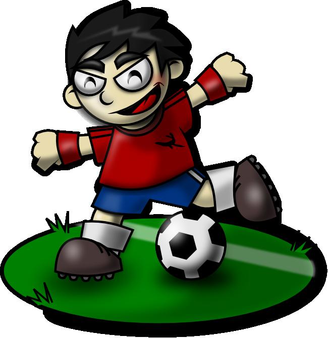 Clipart lion soccer. Sporty kid mascot