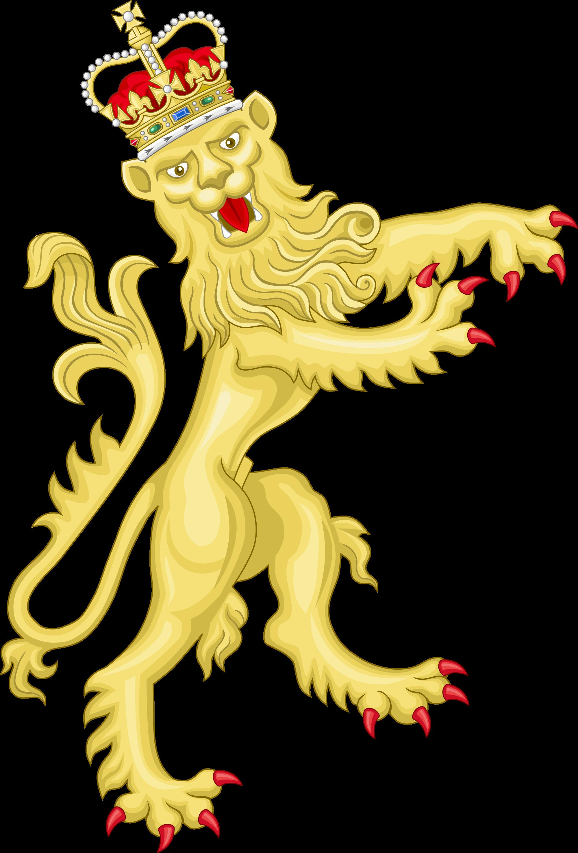 File royal coat of. Clipart shield lion