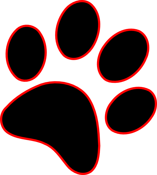 Husky clipart bear paw. Print lion frames illustrations