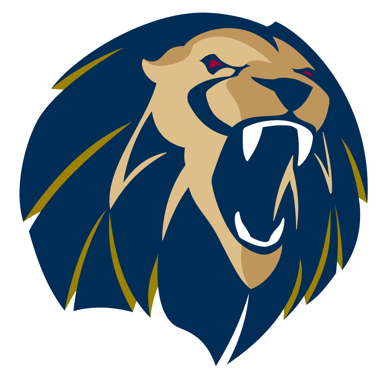 Arkansas fort smith lions. Clipart volleyball lion