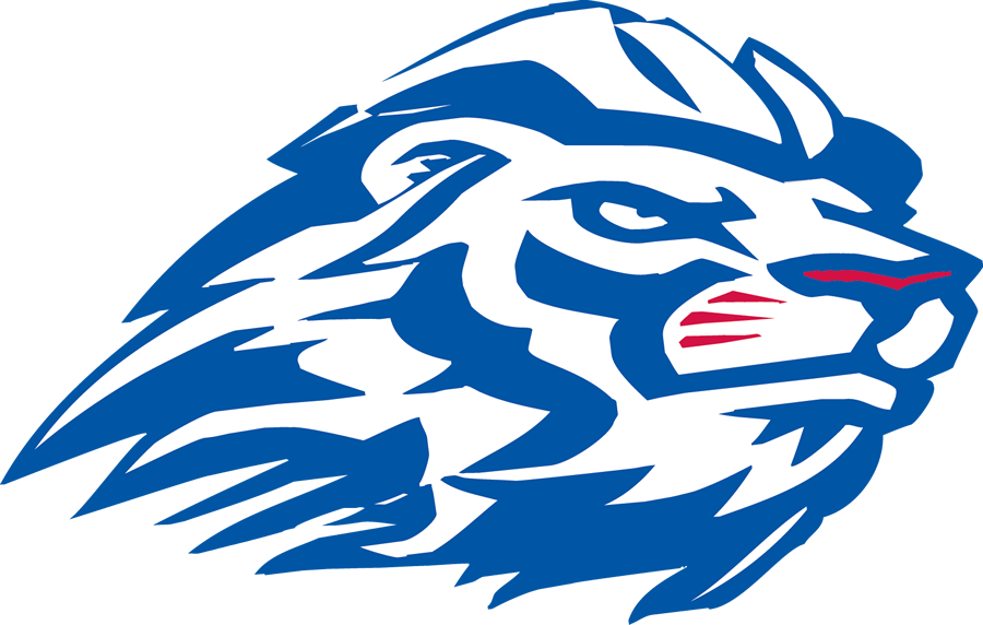 Peachtree ridge team home. Clipart volleyball lion