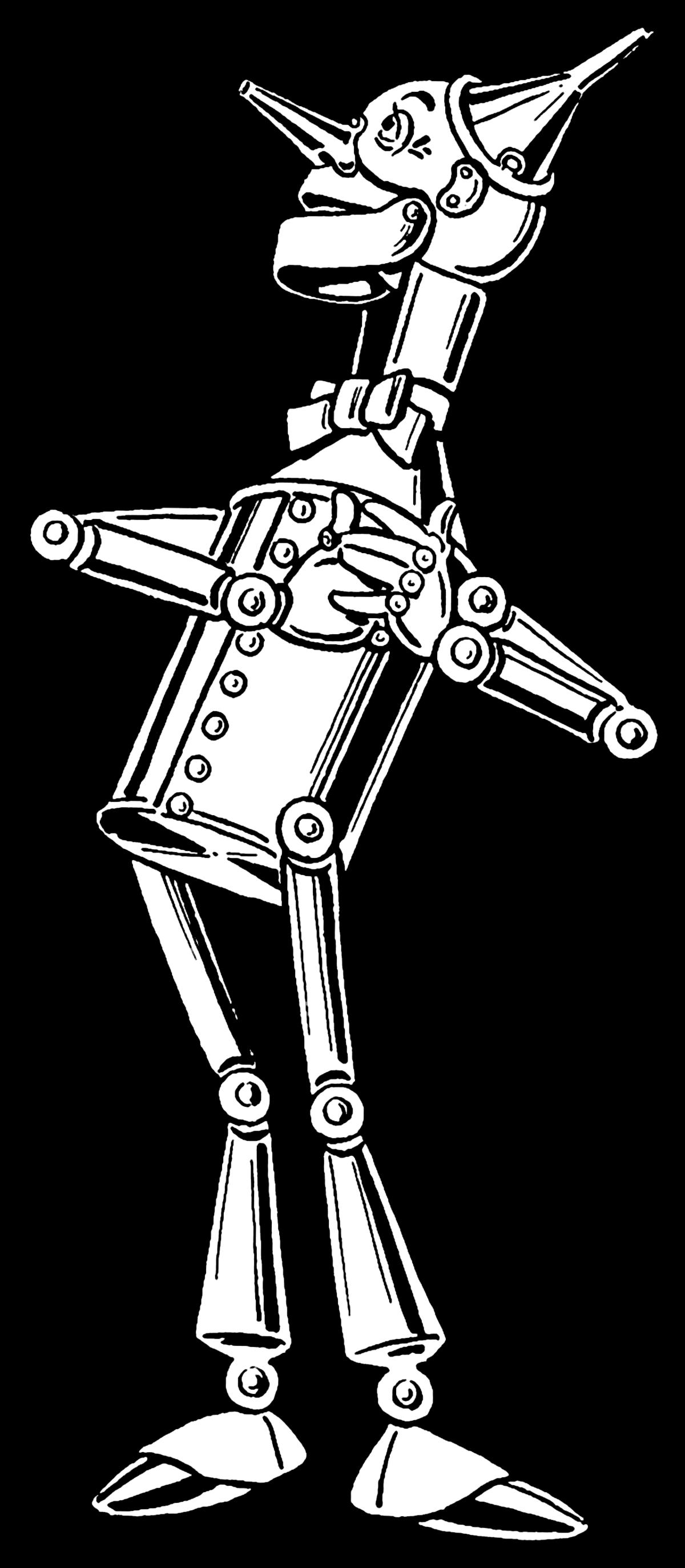 Ox clipart wizard. Tin woodman wikipedia