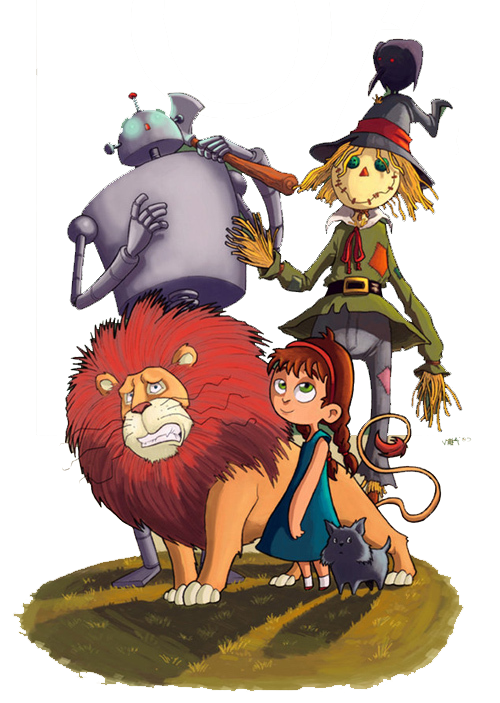 Dorothy gale the wonderful. Clipart lion wizard oz