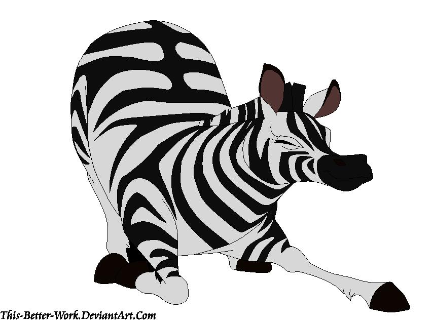 clipart zebra zebra bow