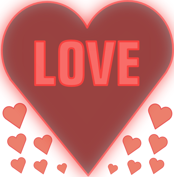 Waffle clipart heart. Love in a clip
