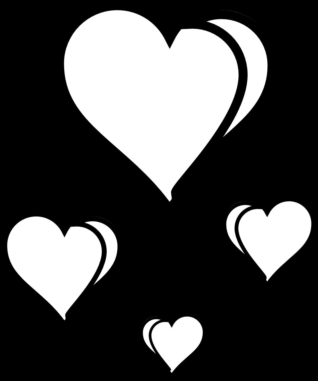 Clip art black and. White clipart love