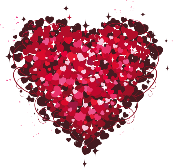 Heat clipart anniversary heart. Of hearts png corazon