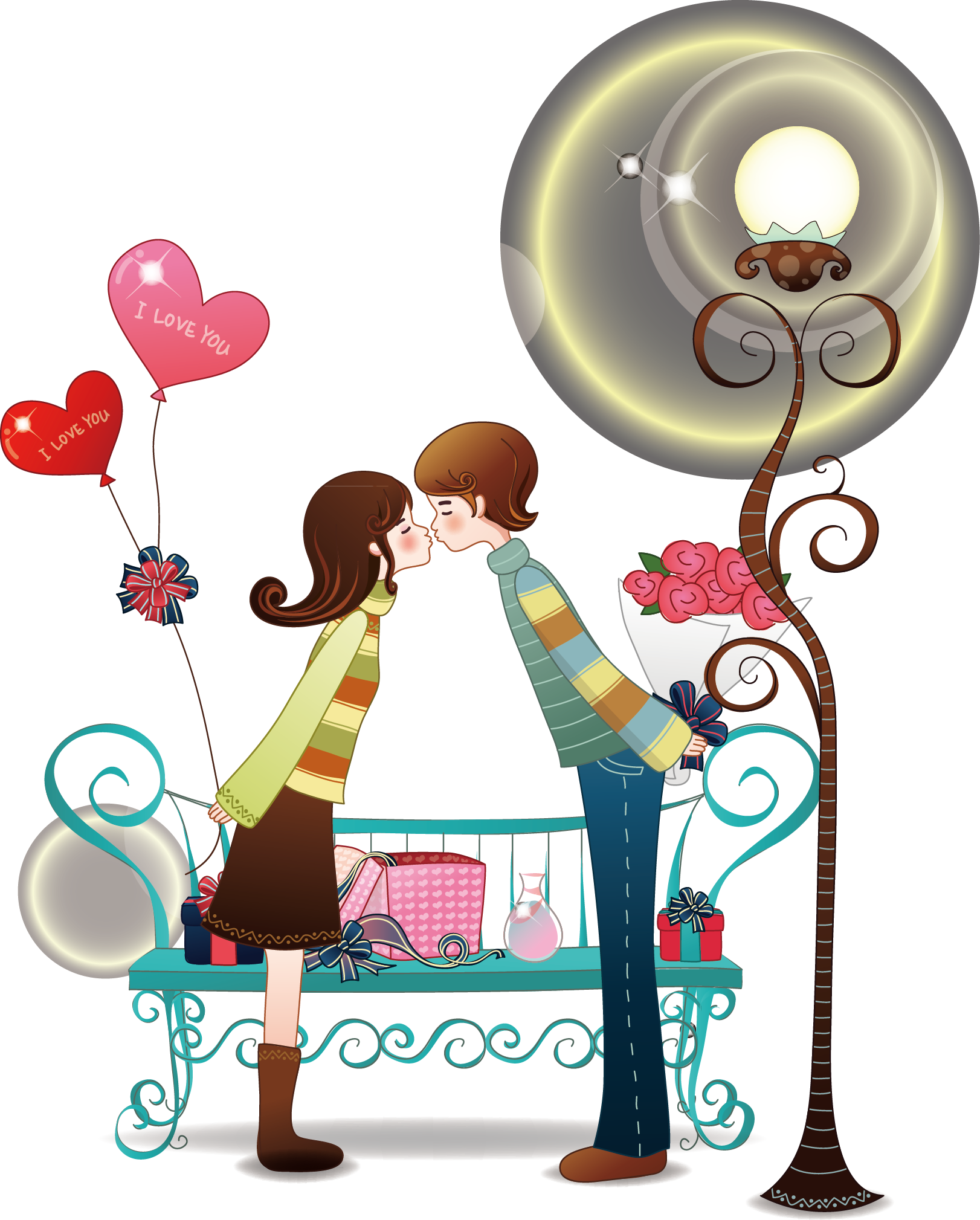 Cartoon Love Clip art