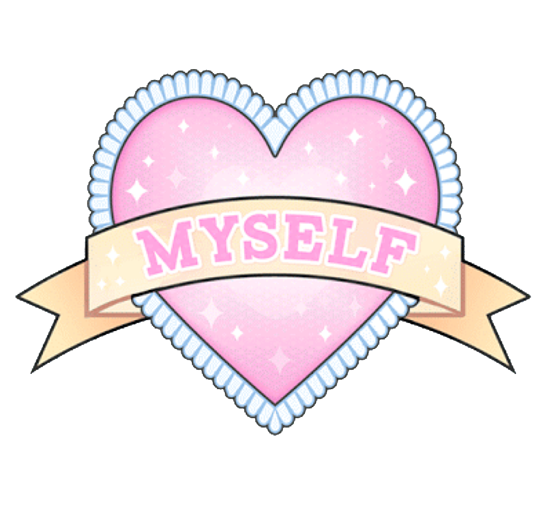 Girly clipart doodle.