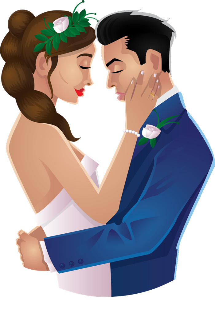 collection of couple. Feast clipart marriage
