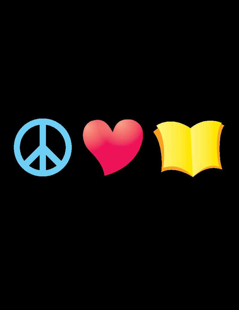Fair clipart family. Zilker night peace love