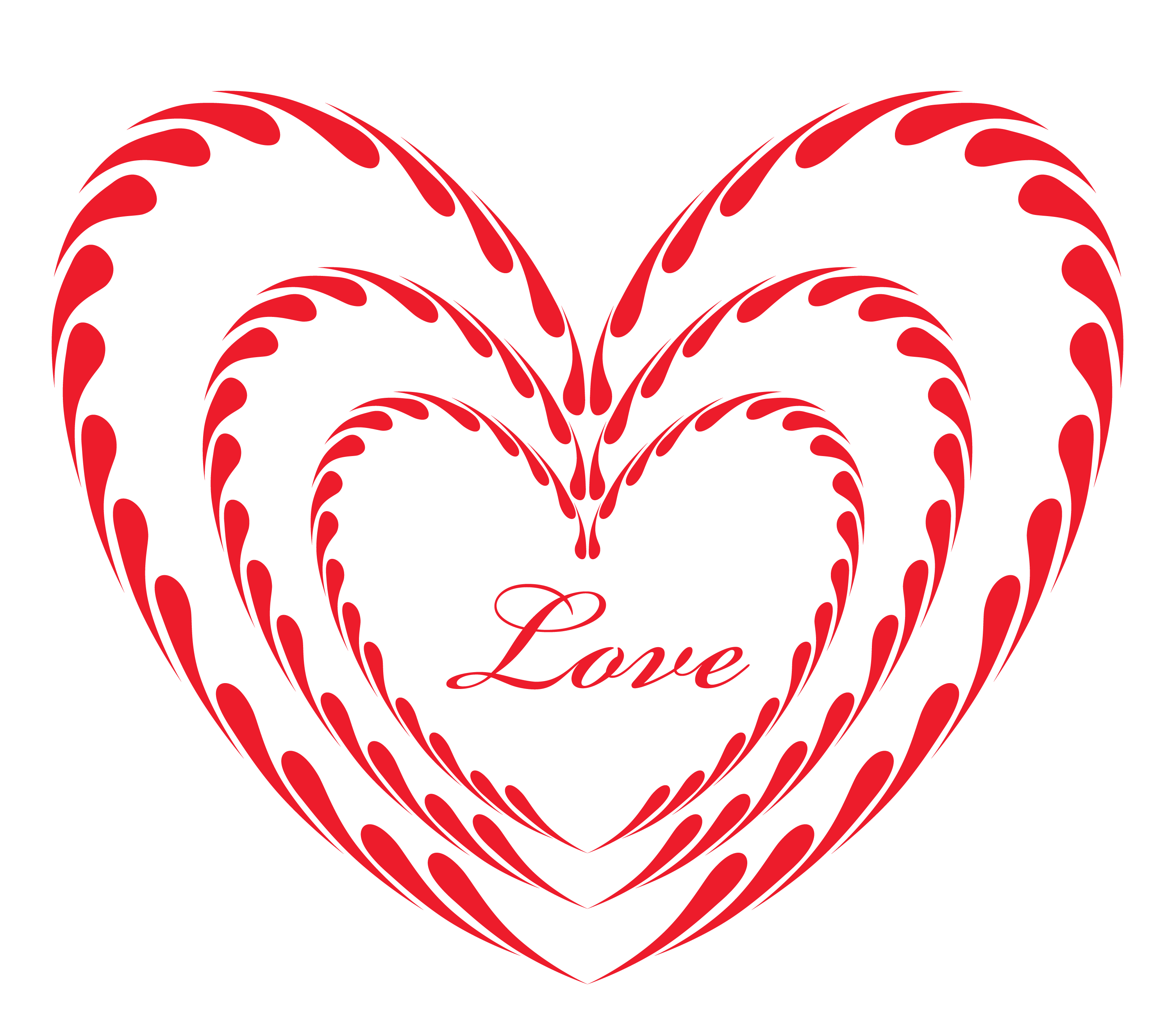 Exercising clipart heart. Red ornament love png