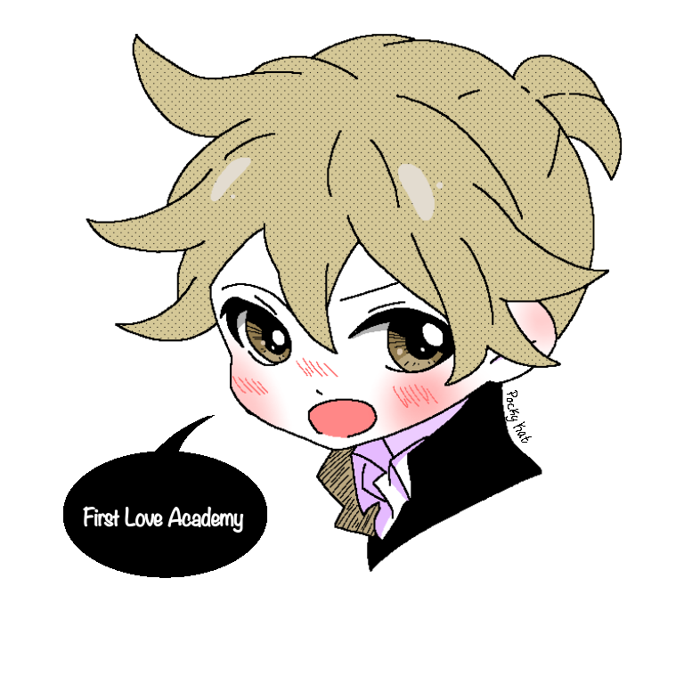 Kagamine len academy by. Love clipart first love