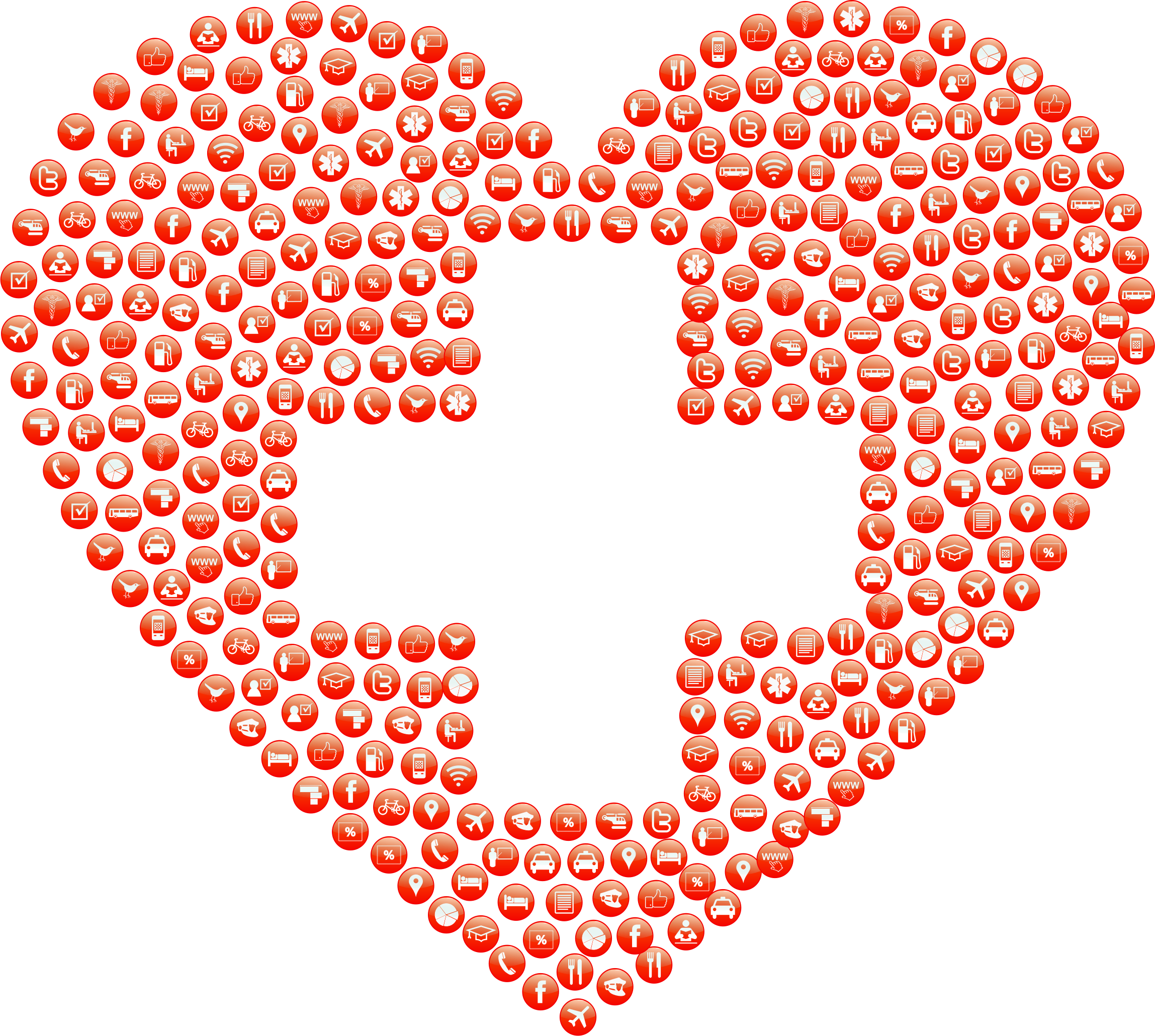 Aid heart icons big. Love clipart first love