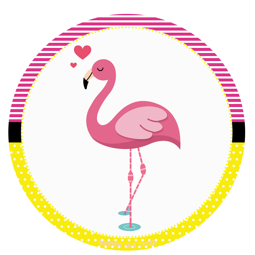 Pin by marina on. Pineapple clipart flamingo