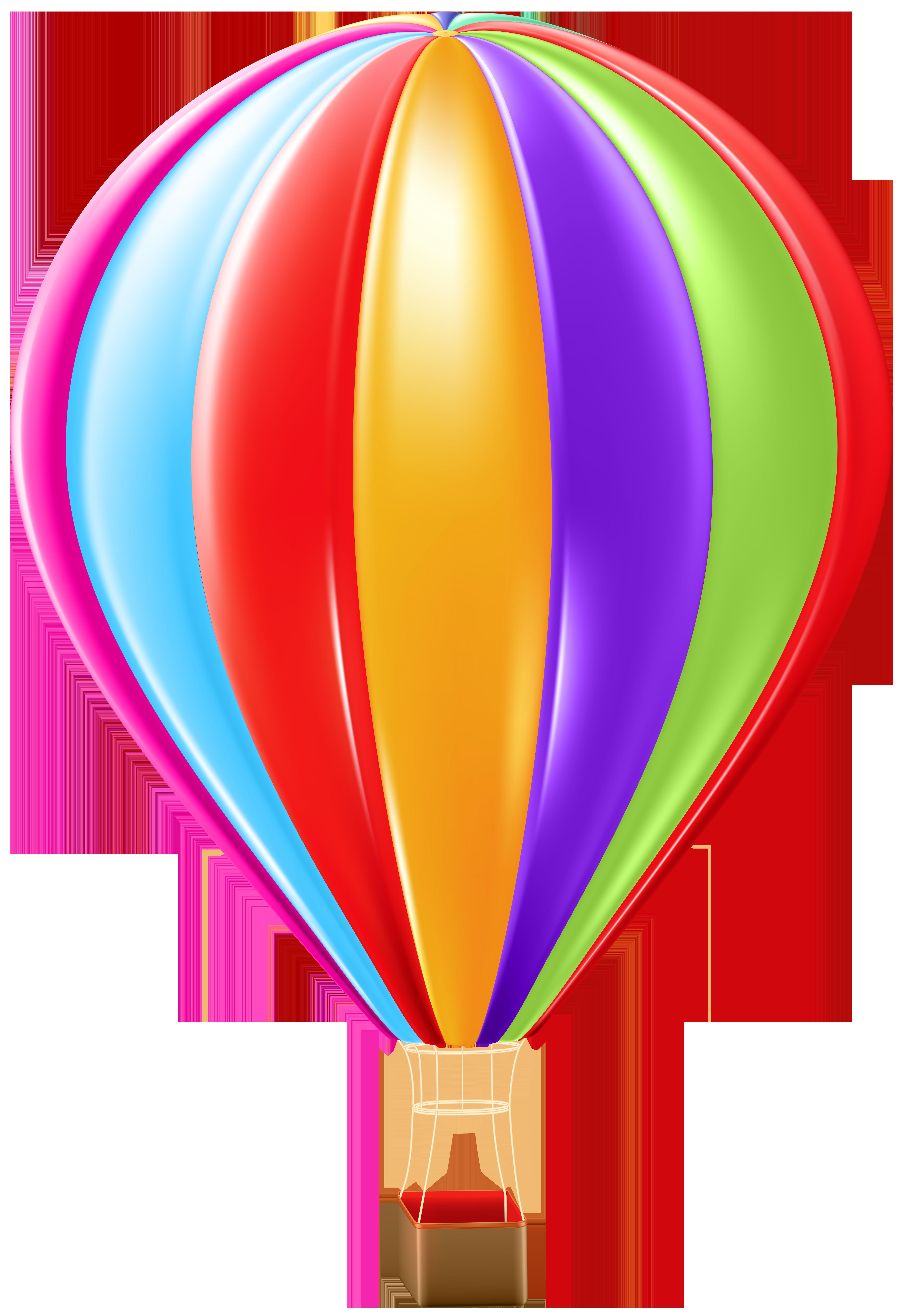 Clipart plane balloon. Hot air png clip
