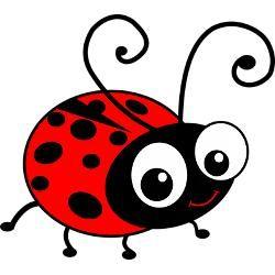 Fonts clip art ladybug. Ladybugs clipart love