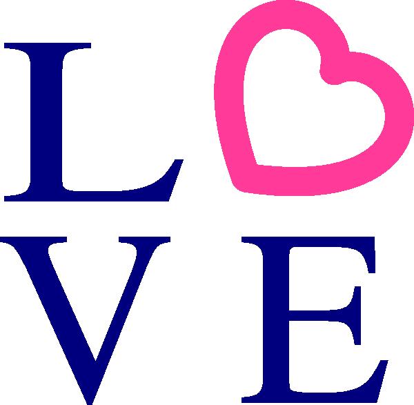 Love logo clip art. Words clipart peace