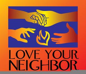 Your neighbor as yourself. Neighbors clipart love