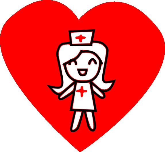 Download nurse cardiac clip. Nursing clipart love