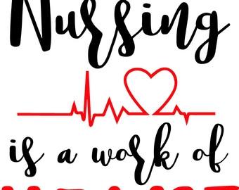 Free heart nurse cliparts. Nursing clipart love