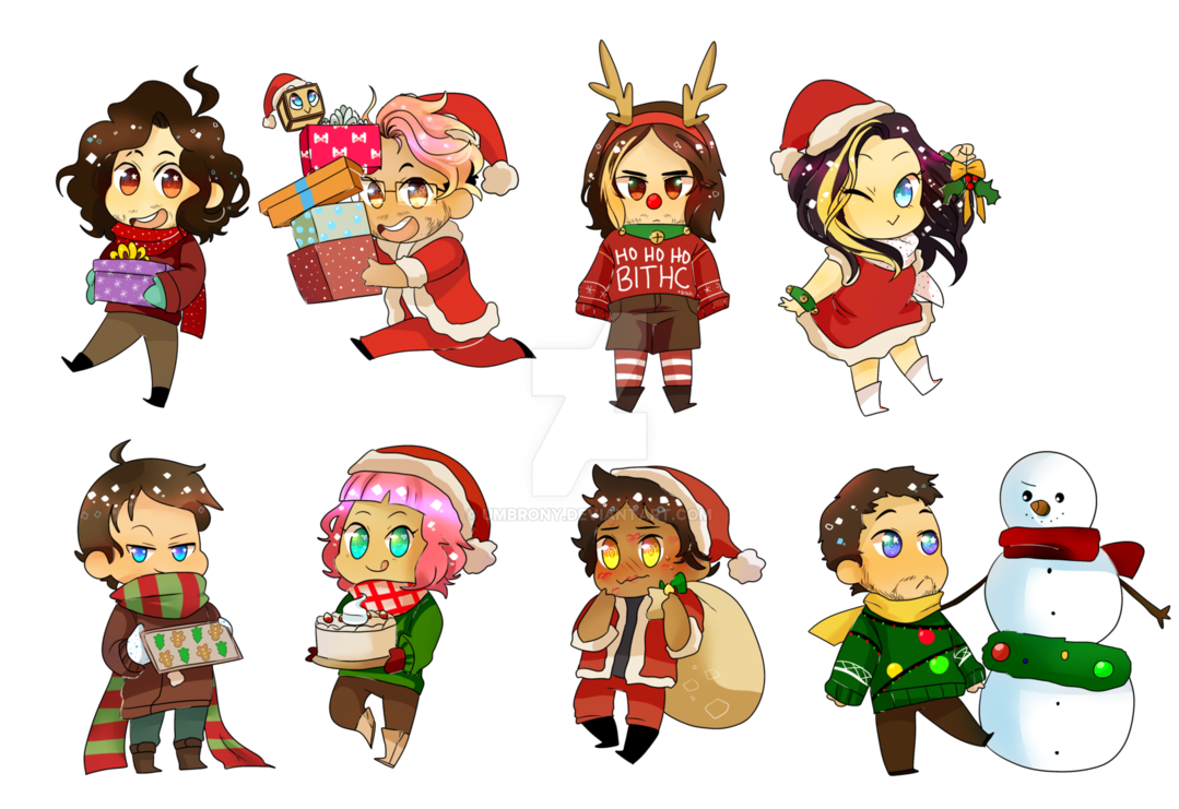 Game clipart christmas. Grumps mark stickers by