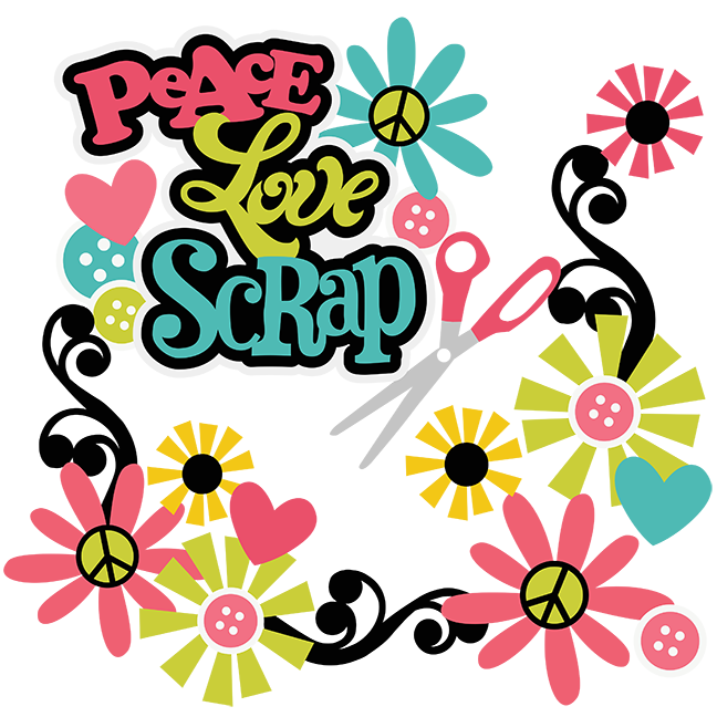 Scrap svg scrapbooking files. Peace clipart peace love