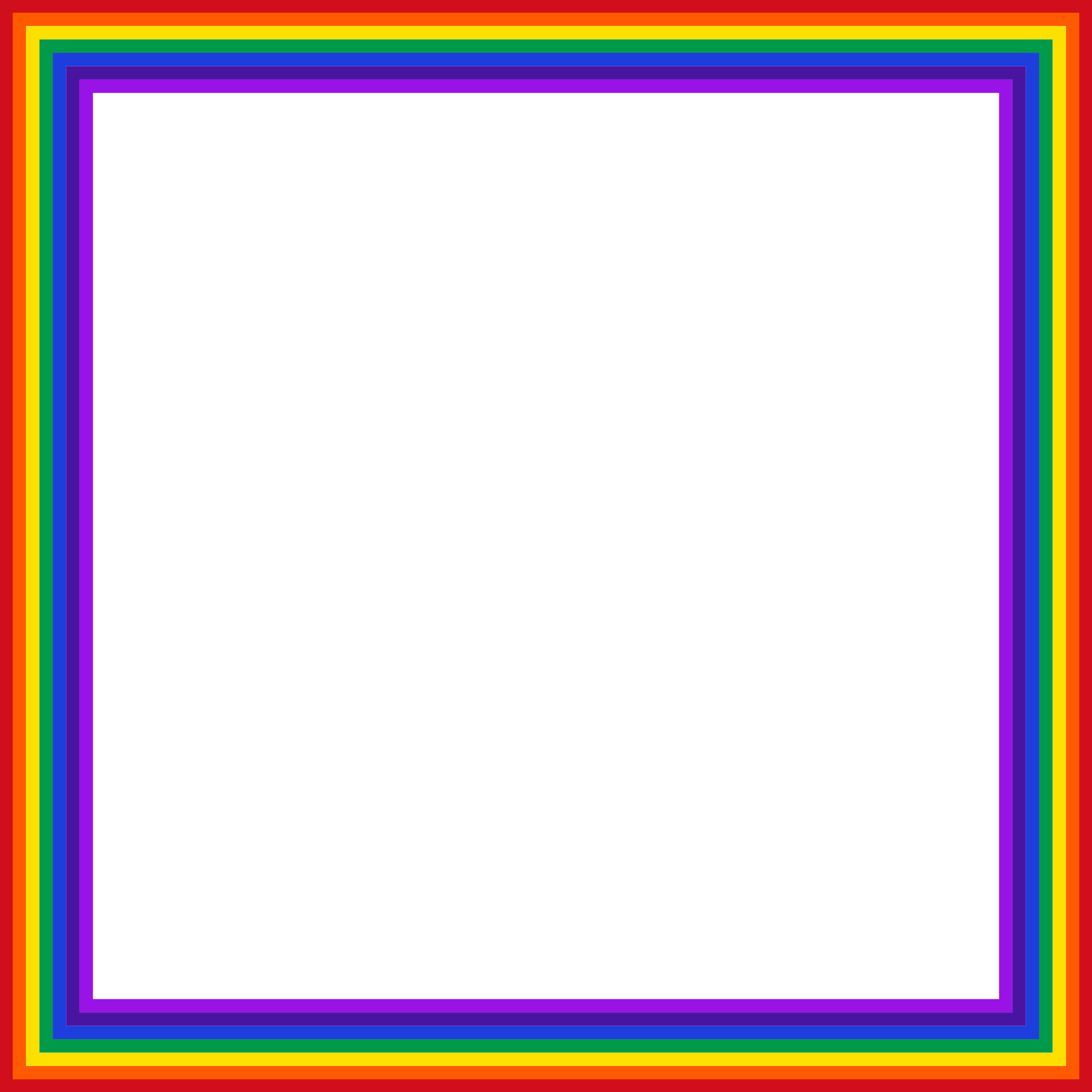 Rainbow big image png. Square clipart square shaped