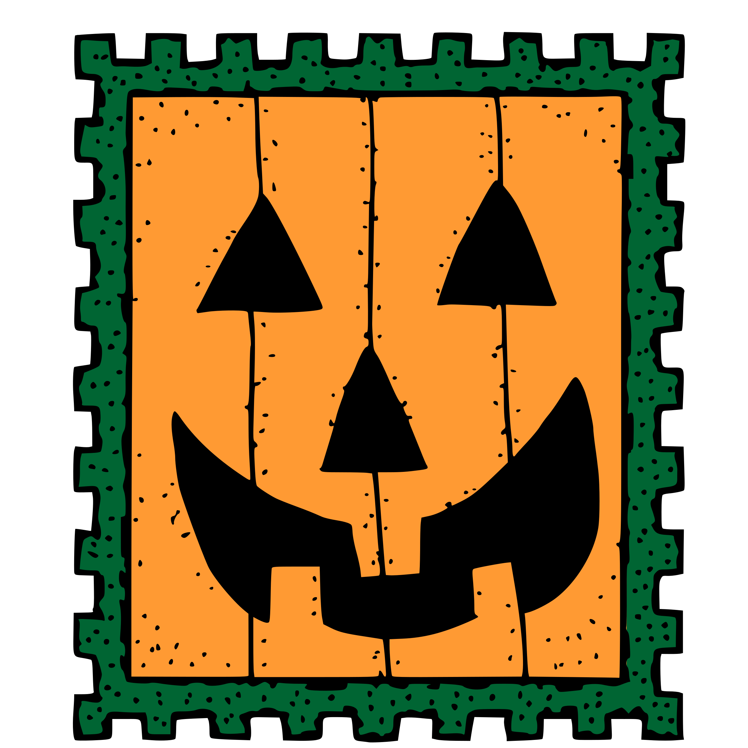 Stamp clipart official. Halloween big image png