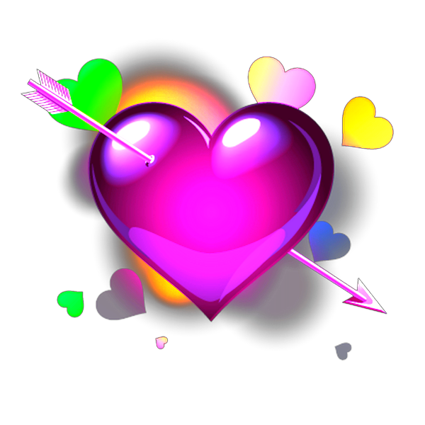 Check out the sticker. Heartbeat clipart heart middle