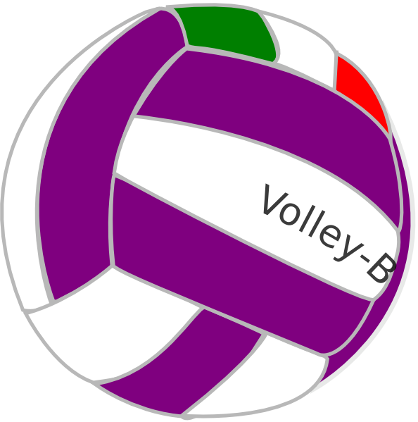 Sppv clip art at. Purple clipart volleyball