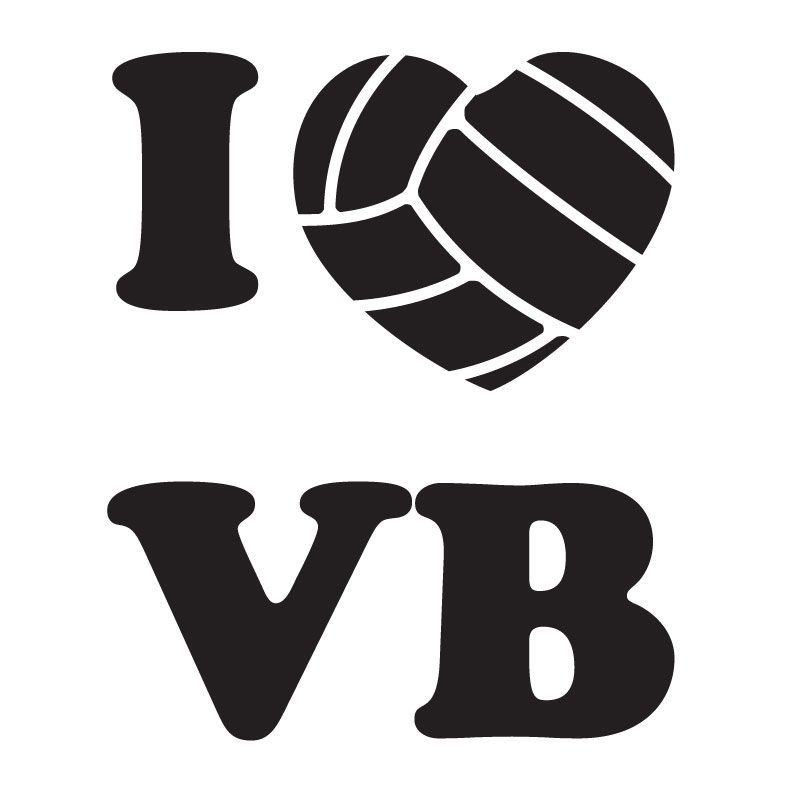 Clipart volleyball love. Clip art market i