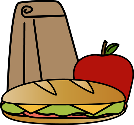 Clipart lunch. Bag sandwich clip art