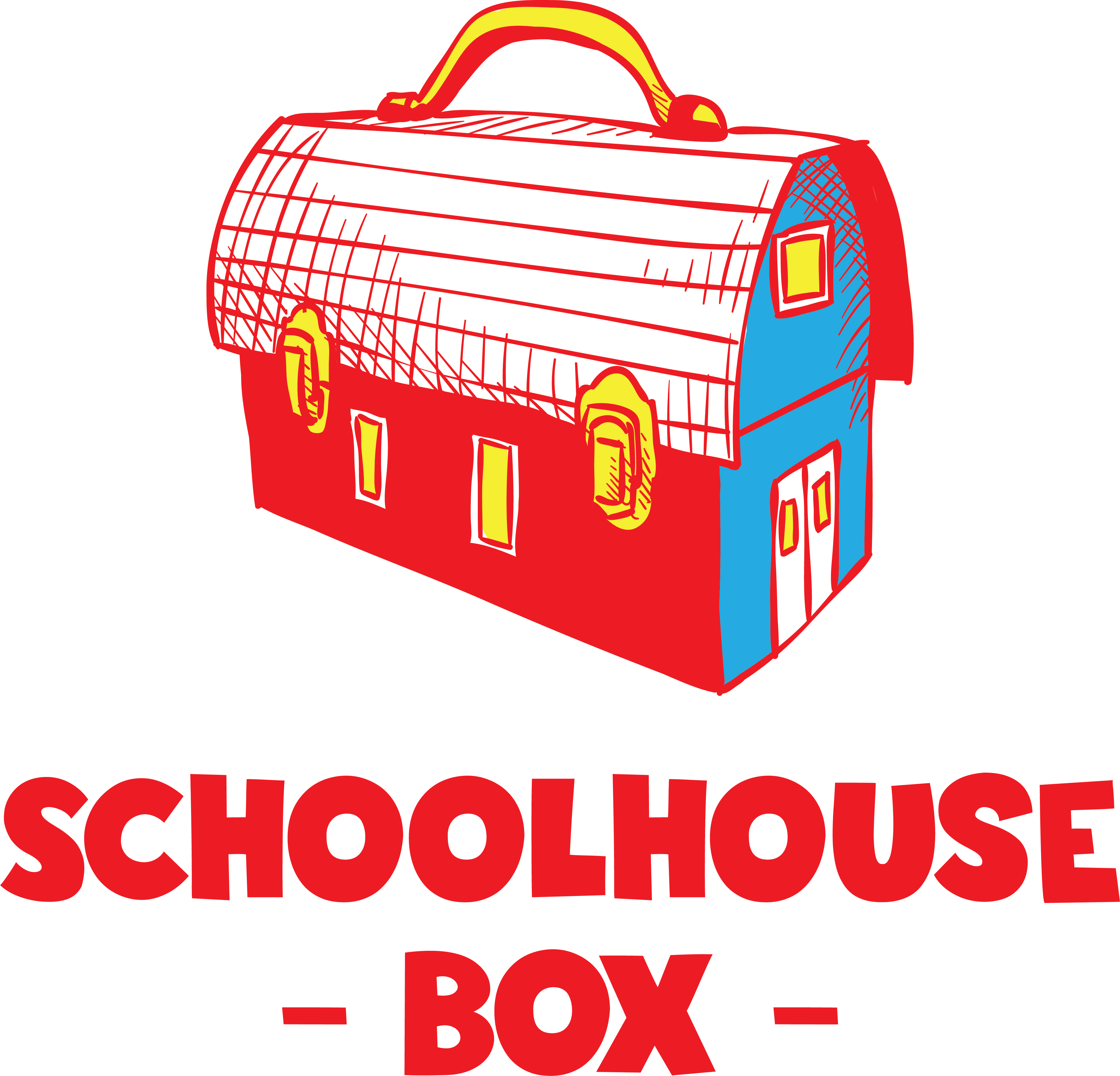 Schoolhouse box healthy lunches. Lunchbox clipart helathy