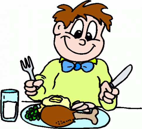 Dinner clipart boy. Free pictures of people