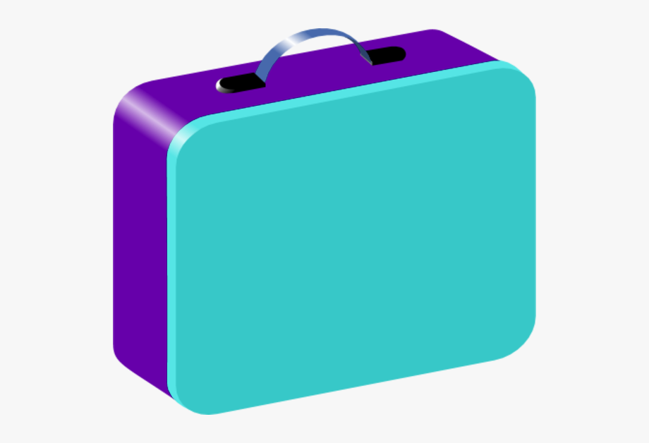 Lunchbox clipart suitcase. Lunch box kid with