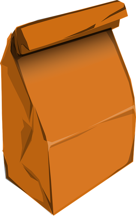 News from our twos. Lunch clipart bagged lunch