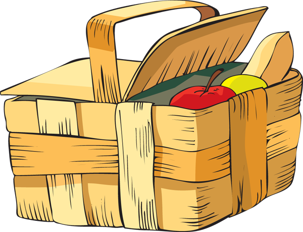 Picnic clipart picnic basket. Clip art food wikiclipart