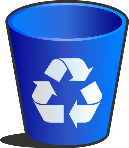 Outline clipart bin. Recycle backgrounds x best