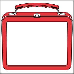 Clip art lunch box. Lunchbox clipart border