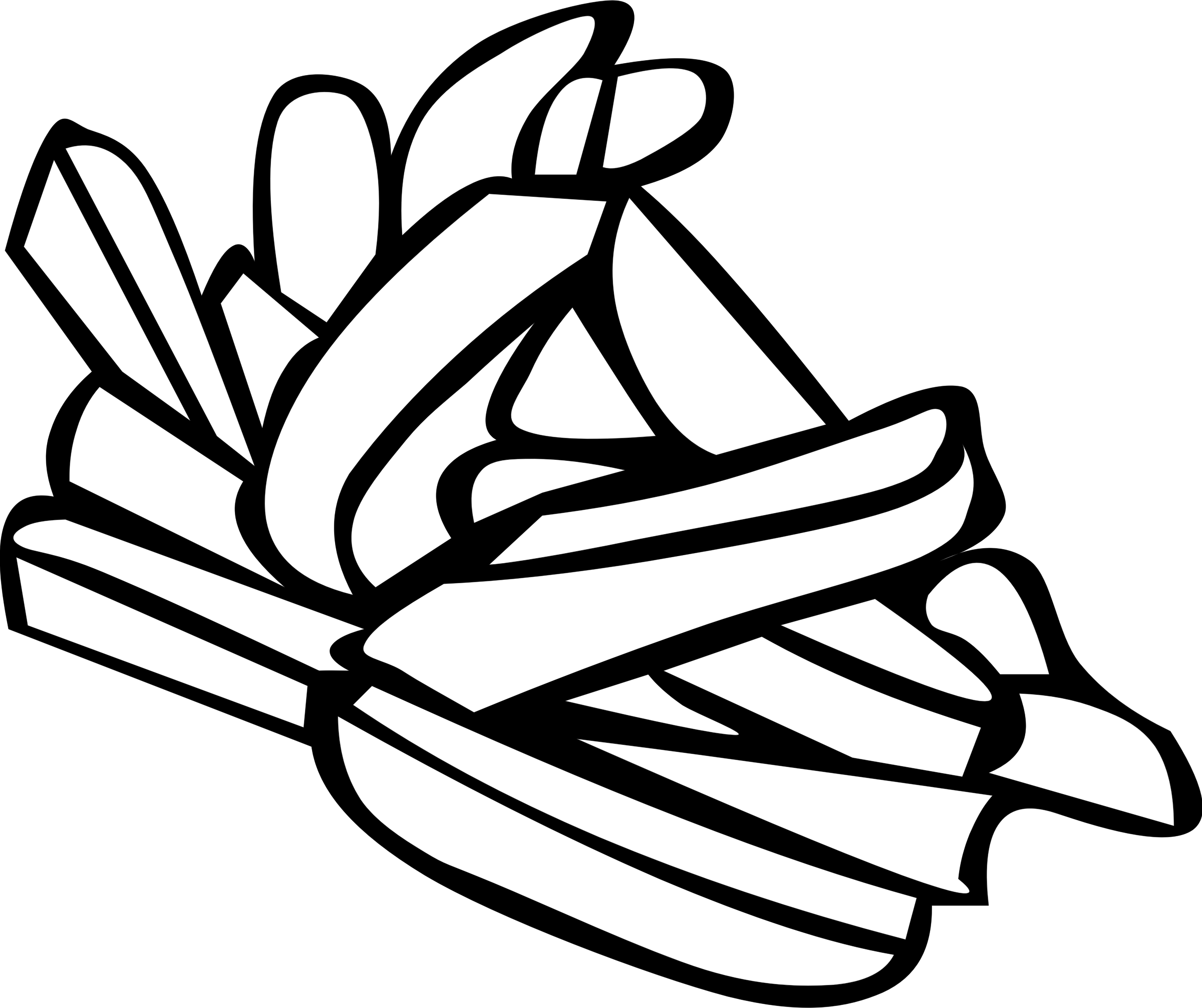 Fast food lunch dinner. Fries clipart black and white