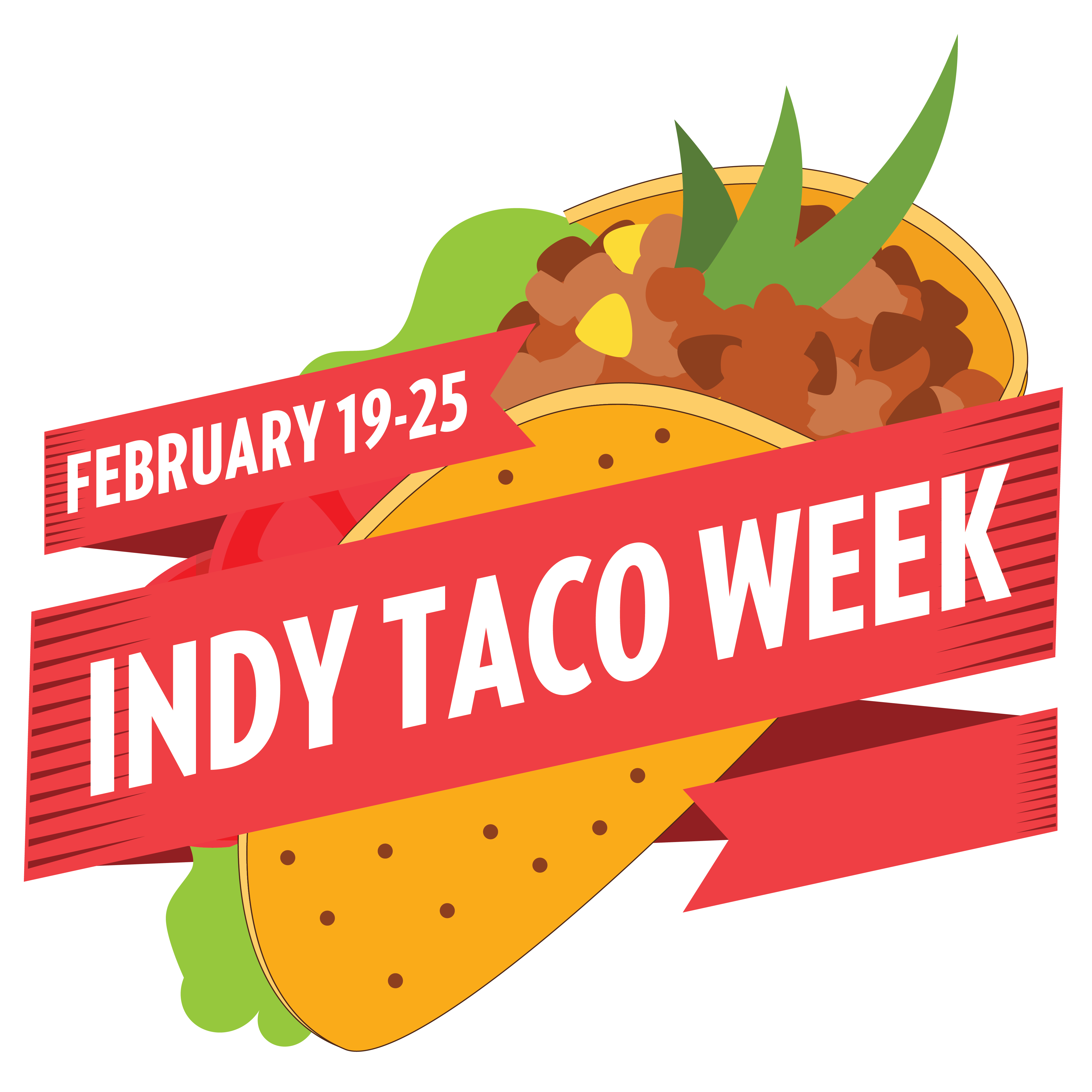 Indy taco week half. Meal clipart family style dining