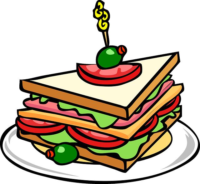 luncheon clipart buffet line