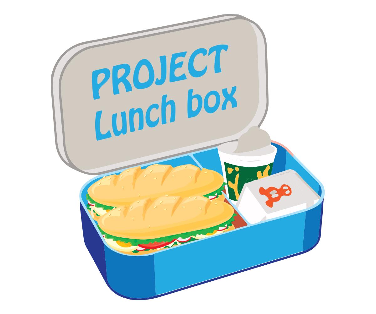 It company logo design. Lunchbox clipart empty